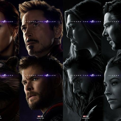 Steam Workshop::Avengers Endgame Posters