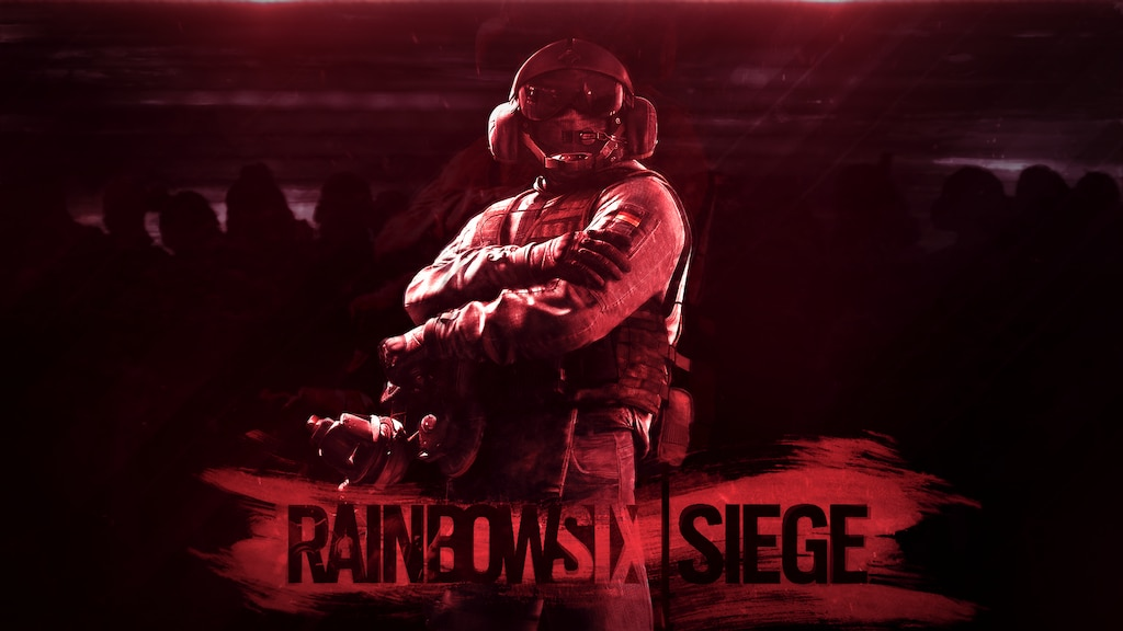 Steam Community Red Themed Rainbow Six Siege Wallpaper
