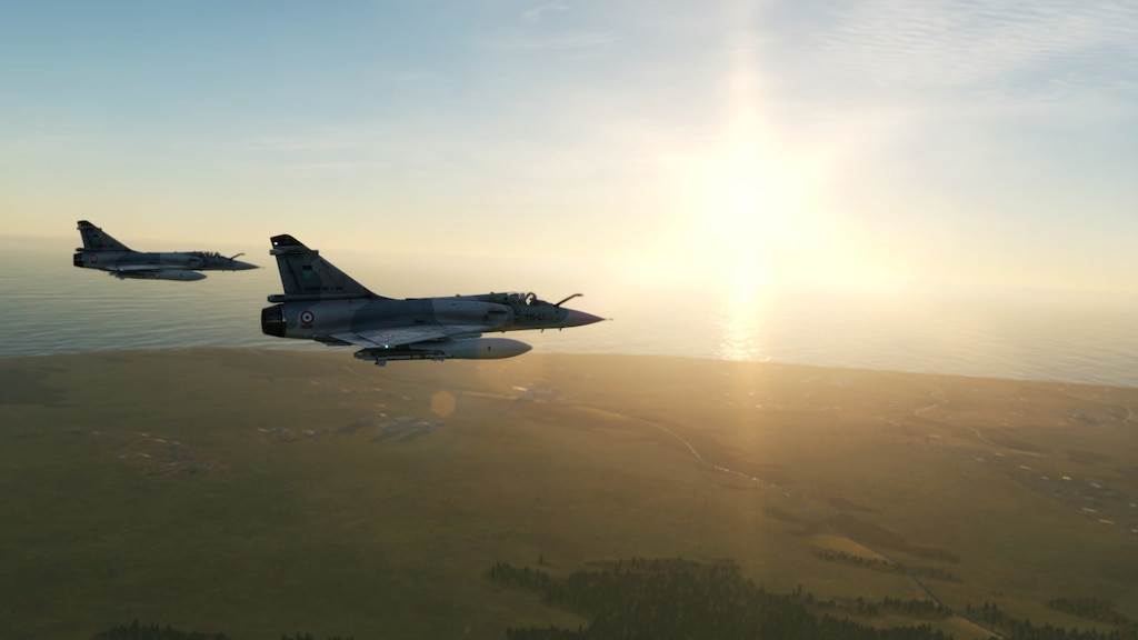 Steam 社区:: 截图:: The Mirage 2000 is a French multirole
