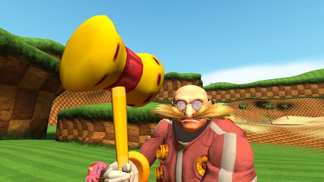 Steam Atolyesi Eggman Player Model From Sonic The Hedgehog 2006