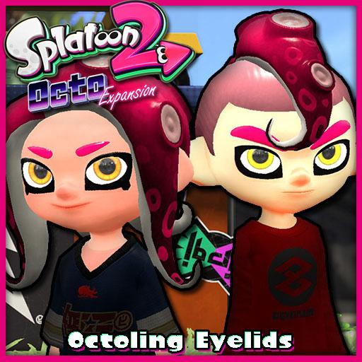 Steam Workshop Splatoon 2 Octo Expansion Octoling Eyelids