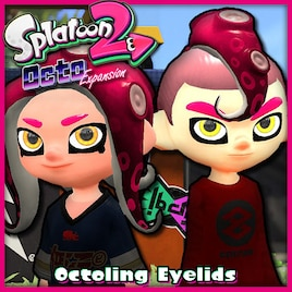 Steam 工作坊 Splatoon 2 Octo Expansion Octoling Eyelids
