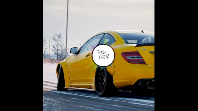 Steam Workshop Fh4 Mercedes C63 Amg Wallpaper With