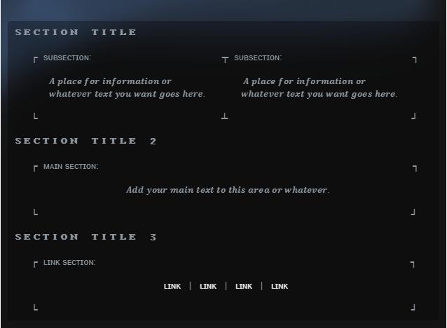 Steam Community :: Guide :: 10 Free Info Box Templates