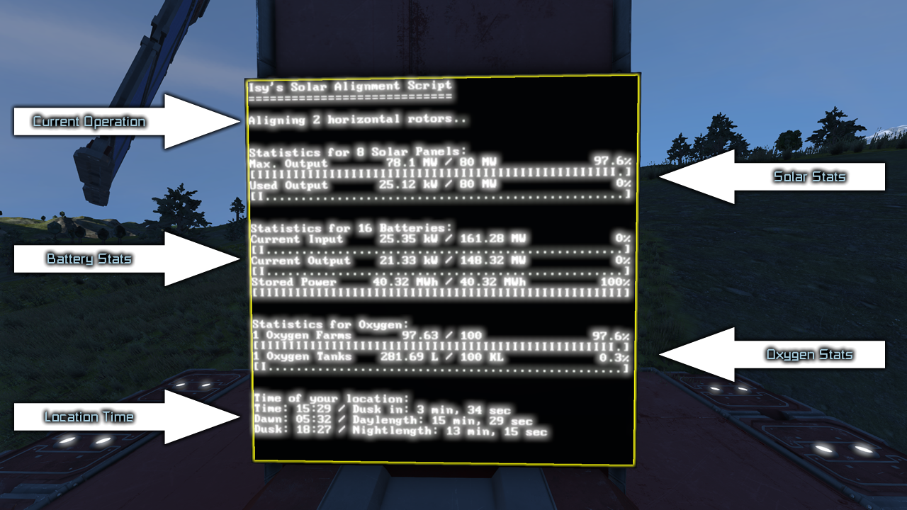 Steam Community Guide Isy S Solar Alignment Script Guide