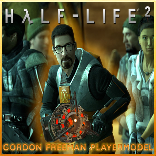 Gordon Freeman (Gorgeous Freeman) Playermodel