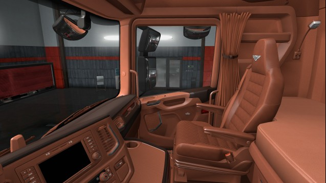 Bentley Interior for Scania R and Scania S