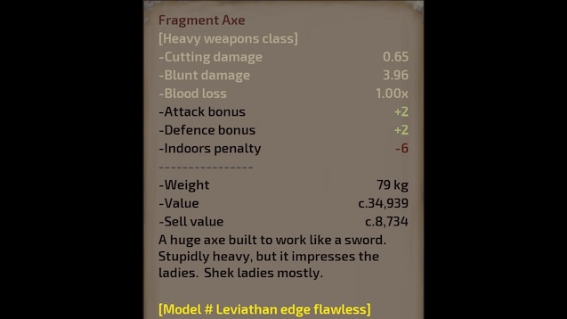 Steam Workshop :: Leviathan Weapon Smithing