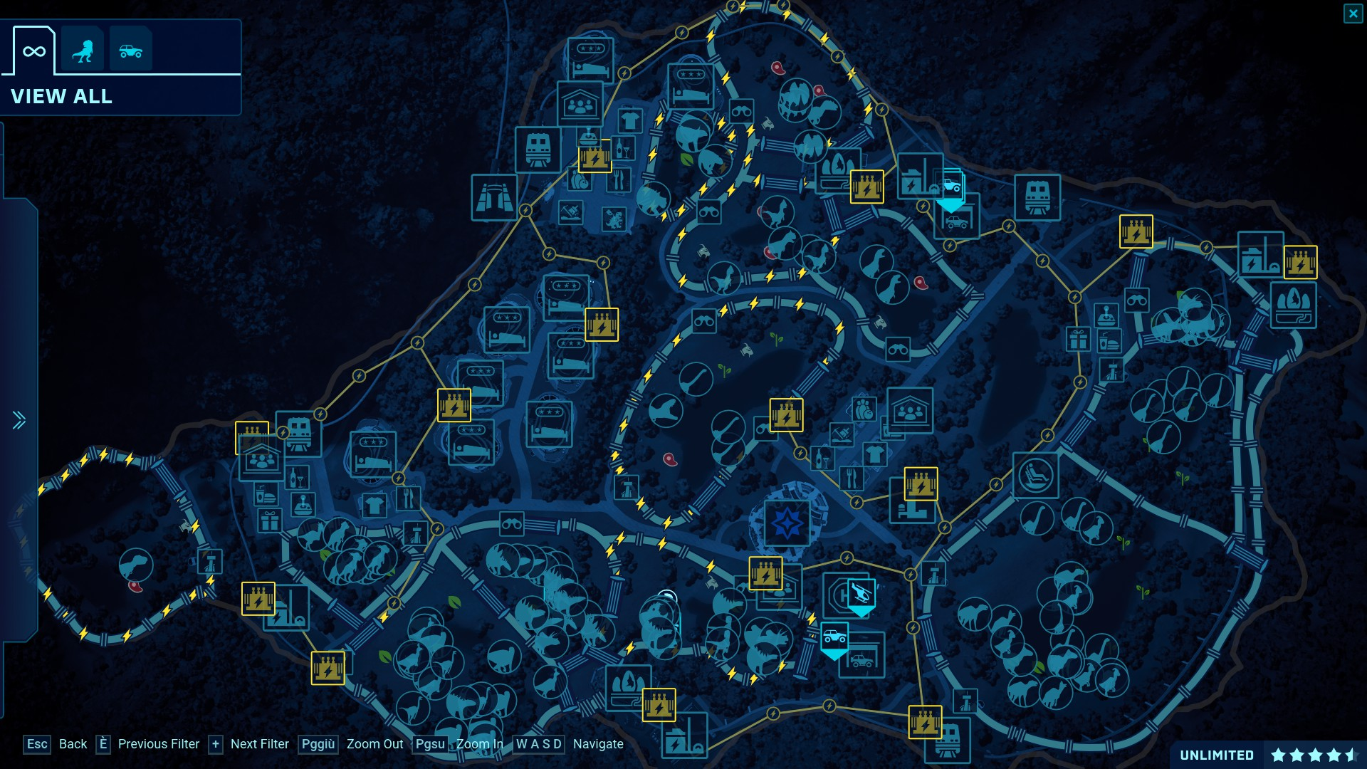 Steam Community :: Screenshot :: Isla Nublar map (114) on