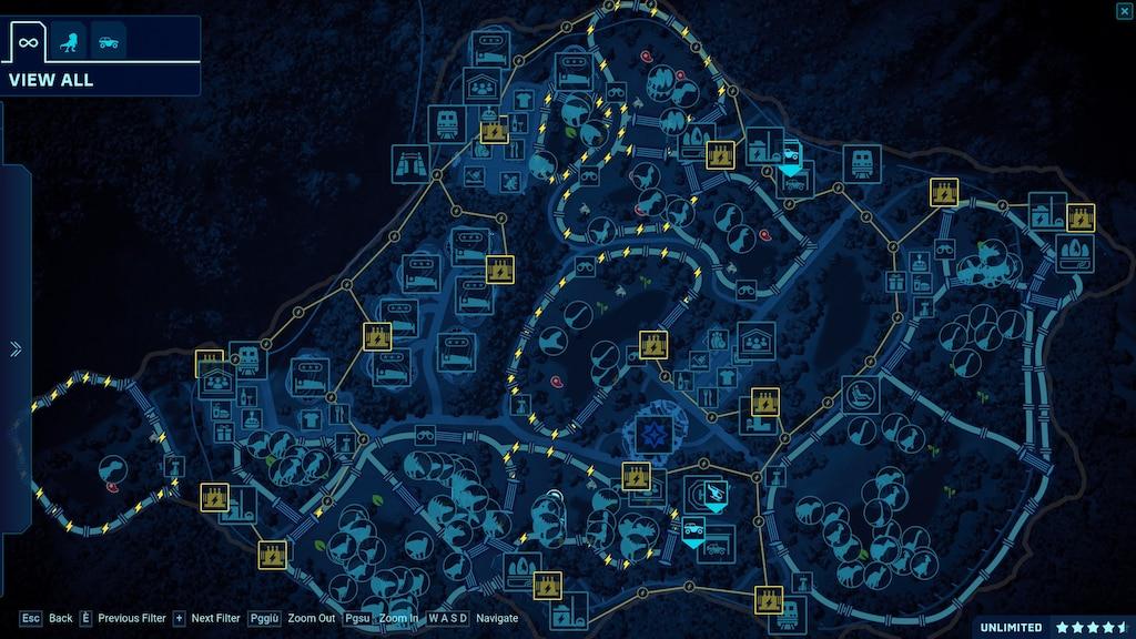 Steam Community :: Screenshot :: Isla Nublar map (114) on azores map, nauru map, isla sorna dinosaur map, antigua map, greenland map, isla pena, guyana map,