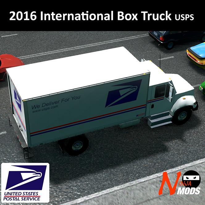 2016 International Box Truck Usps