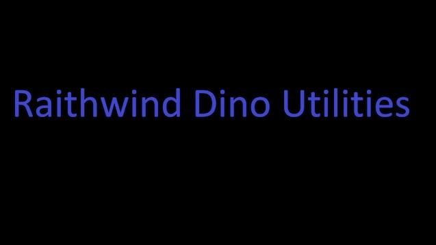 Steam Workshop :: Raithwind Dino Utilities Healing and Taming