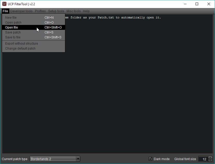 borderlands 2 file editor