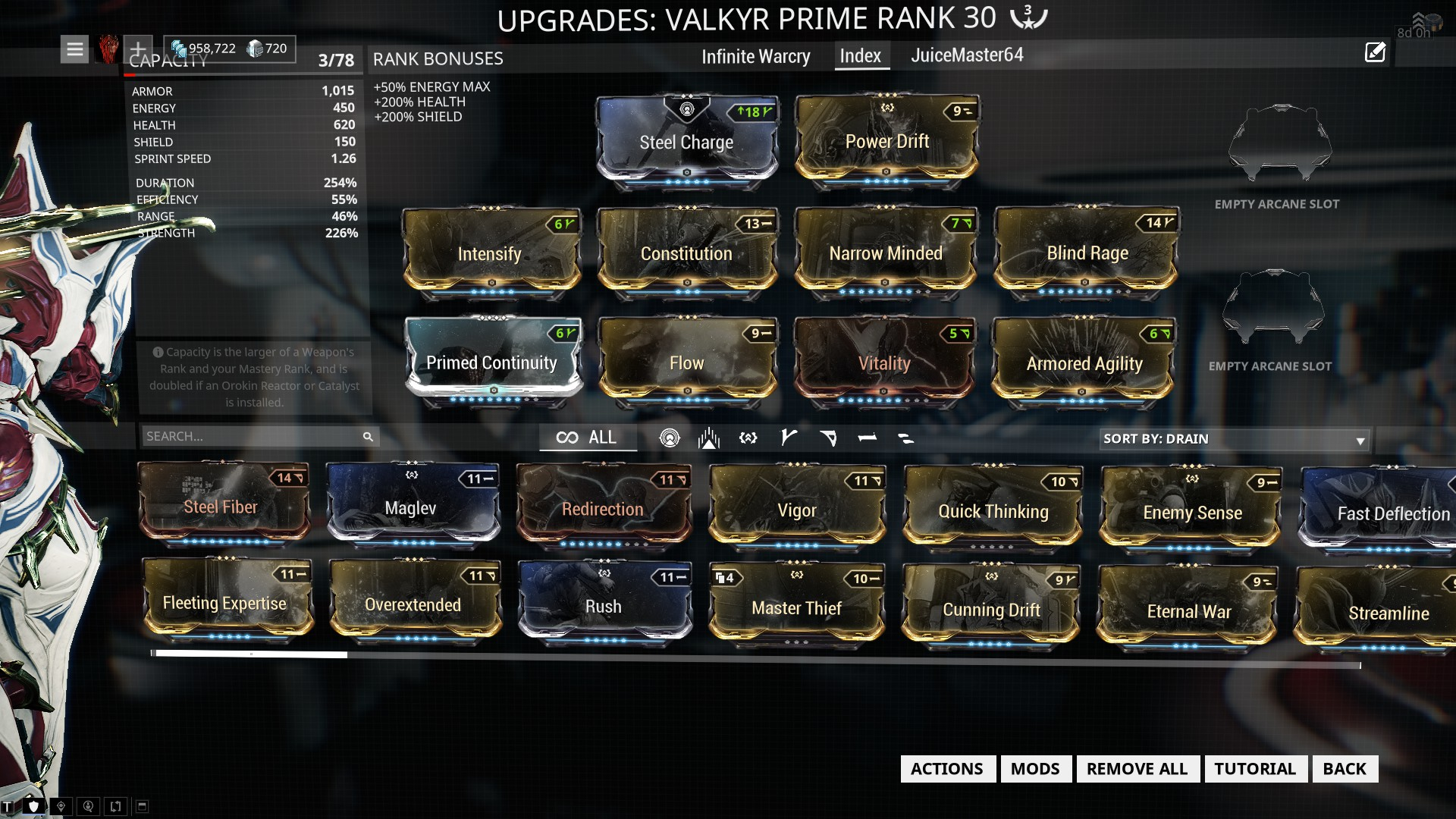 Steam Community :: Guide :: Valkyr Hysteria - The Index