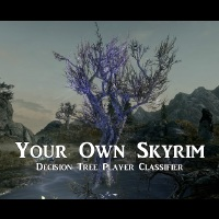 Your Own Skyrim - Decision Tree Player Classifier画像