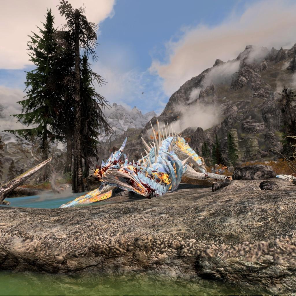 Steam Community :: Screenshot :: A glacial dragon (mod)
