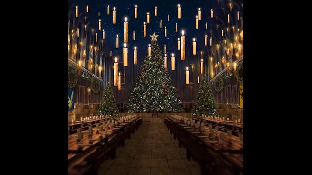Steam Workshop Hp Asmr Christmas At Hogwarts Great Hall