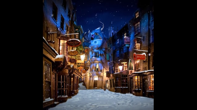 Steam Workshop :: [HP ASMR] Harry Potter ASMR - Diagon Alley