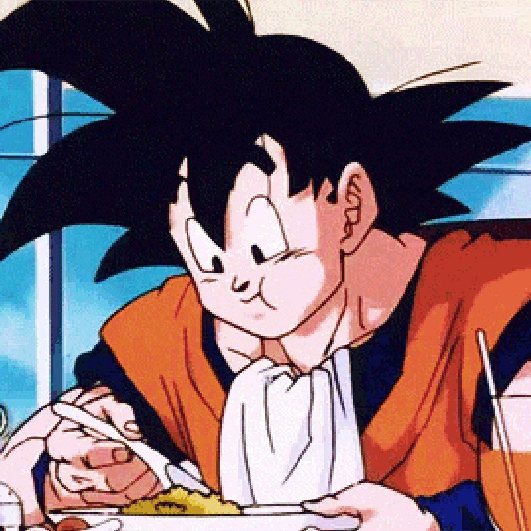 Goku Eating Japanese
