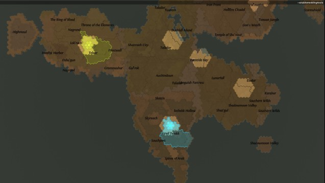 Steam Workshop :: Draenor Map 2.0 (Number of regions doubled!)