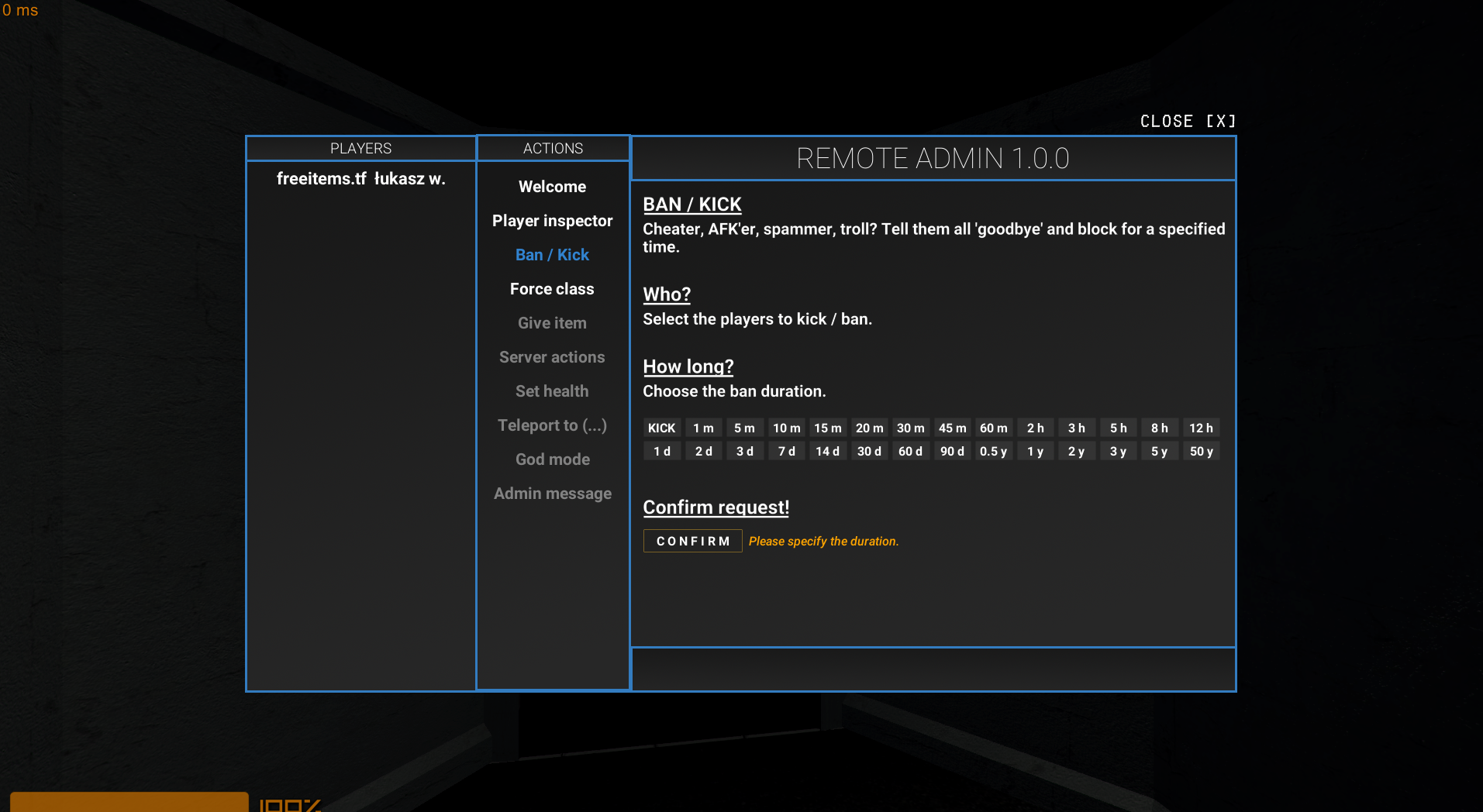 Steam Community :: Guide :: How to do admin panel and create servers