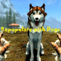 Repopulate Skyrim with Dogs 2.0画像