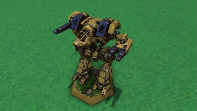 Steam Workshop :: BattleTech 'Mech Pack - MechWarrior High