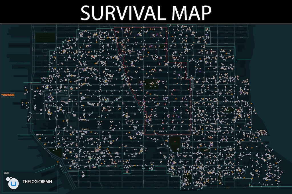 The Division Map Steam Community :: Screenshot :: Division Full Survival Map The Division Map
