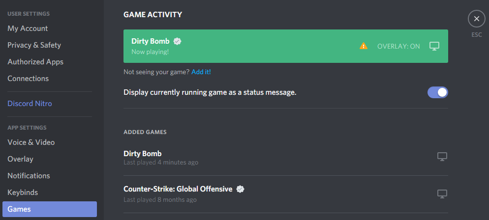 how to do crossed out text on discord