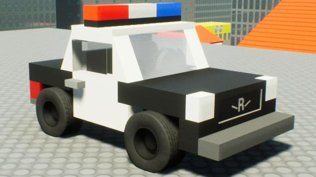 Steam Workshop Roblox Police Car