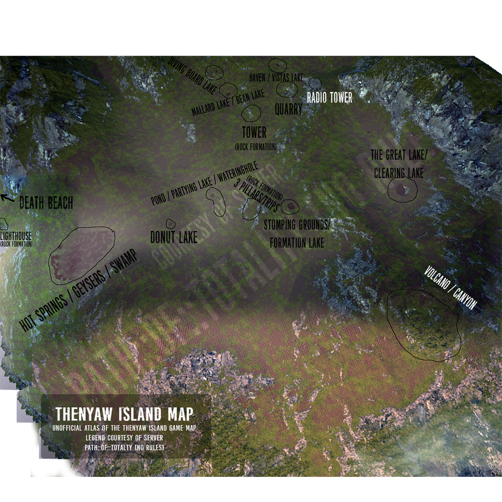 Steam Community :: Guide :: Thenyaw Island Game Map [Labeled Atlas]