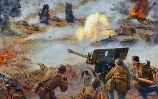 танкистам курской битвы открытка рецепт