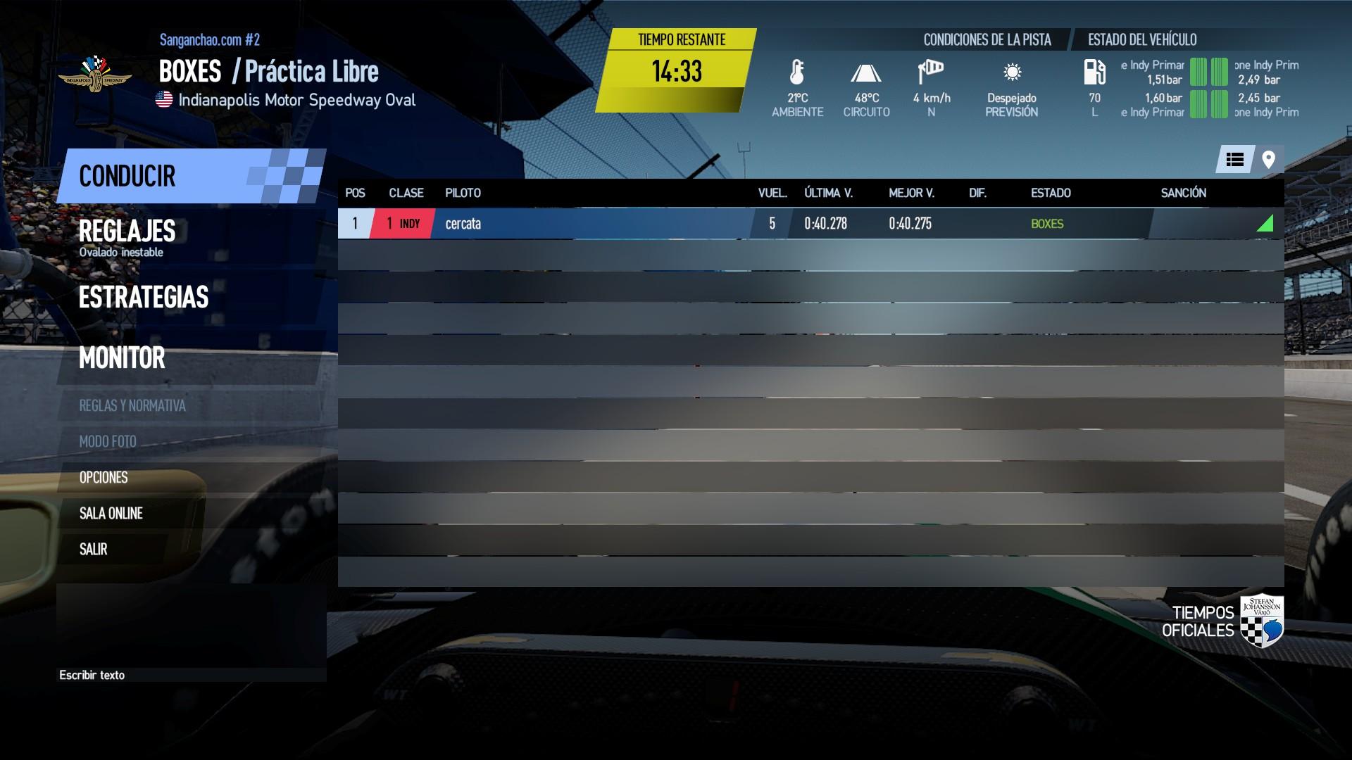 Triple Corona - Carrera 13 - Indianapolis 200 - 31 de Mayo 22:002h BA027EEC2452BFAE6A68562CEC24BDA9B27C6C9A