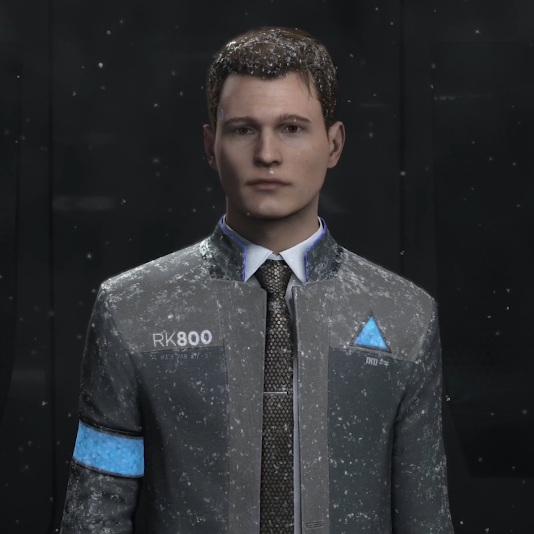 Steam Workshop Detroit Become Human Connor Wallpaper Snow