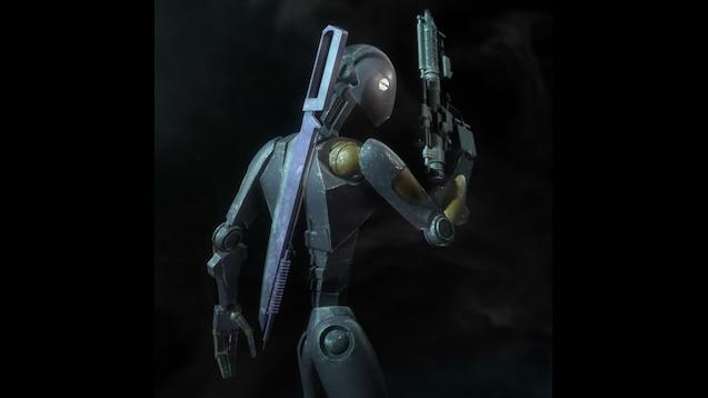 Commando Droid Wallpaper