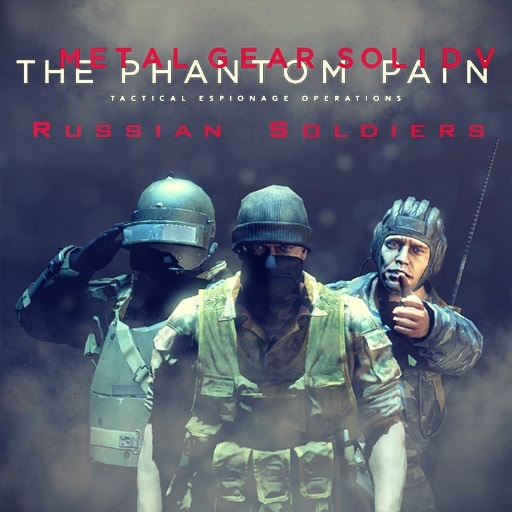 Metal Gear Solid V: The Phantom Pain - Soviet Soldier [PM & NPCs]