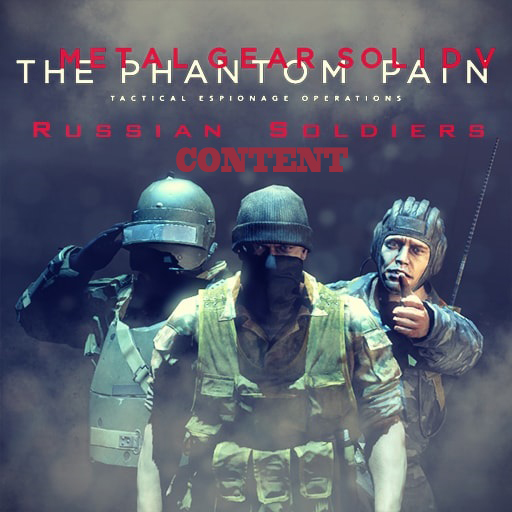 Metal Gear Solid V: The Phantom Pain - Soviet Soldier [CONTENT]