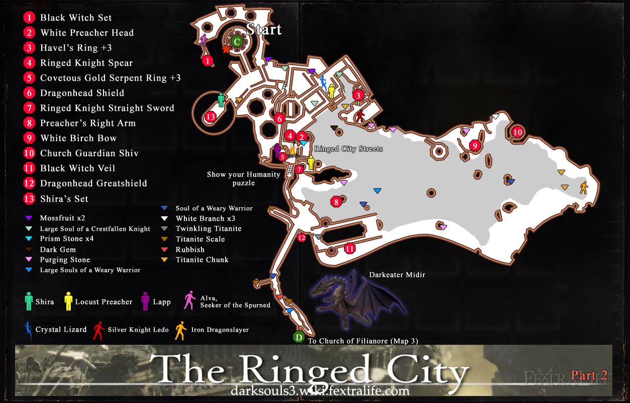 Dark Souls  Ringed City Quests