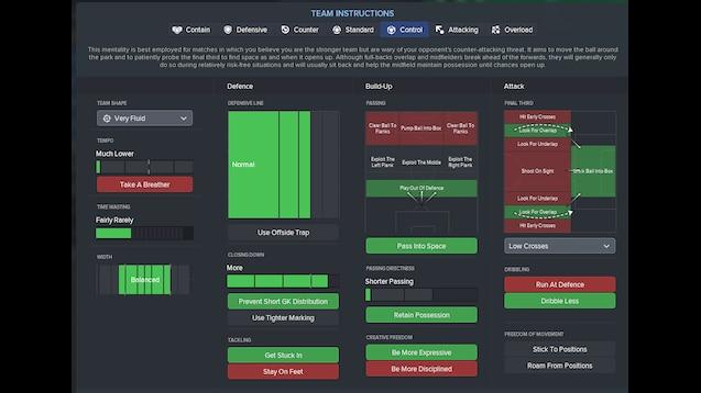 Steam Workshop :: Guardiola System - Beautiful play ( Control The