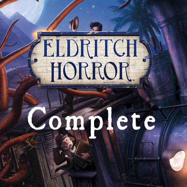 Eldritch Horror Complete (8 Expansions/Scripted/Fan Mods)