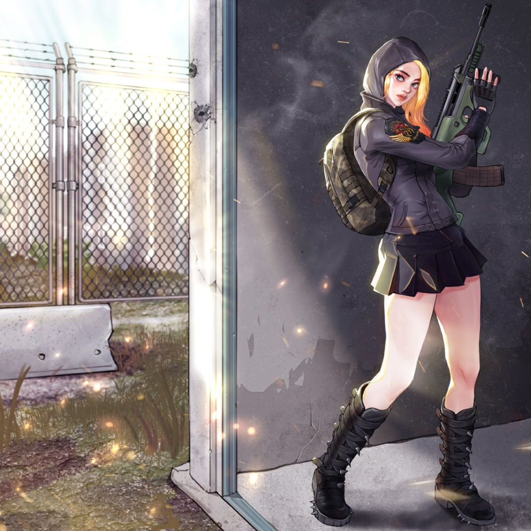 Pubg Real Girl Wallpaper: Steam 创意工坊 :: PUBG Girl