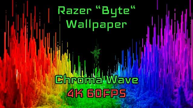 Steam Workshop Razer Byte Wallpaper Chroma Wafe 4k 60fps
