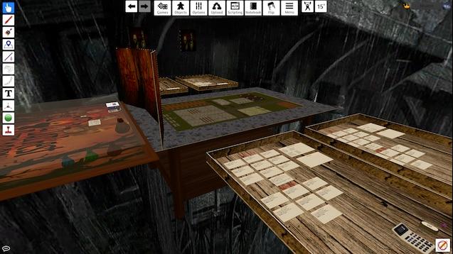 Steam Workshop :: Darkest Dungeon RPG Board (Includes all sprites)