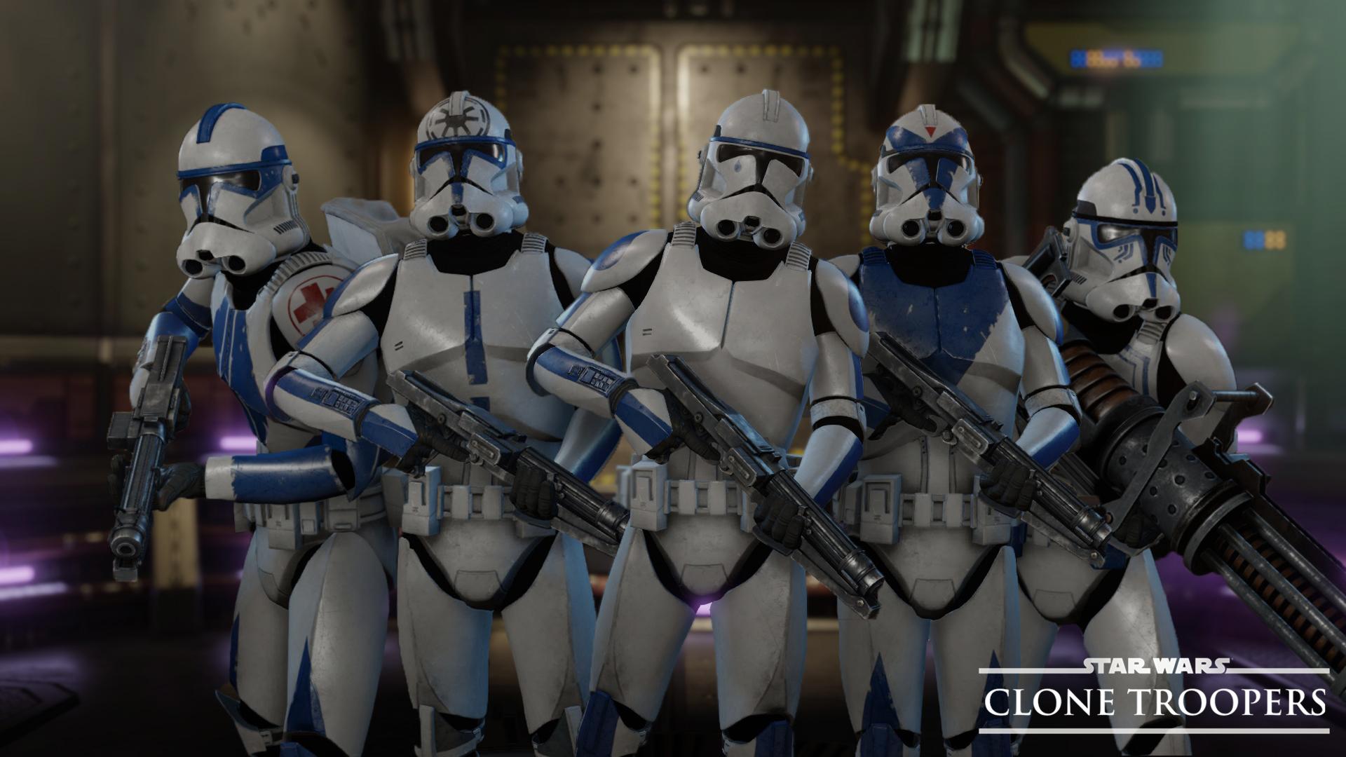 Steam Workshop :: [Legacy] Star Wars: Clone Pack