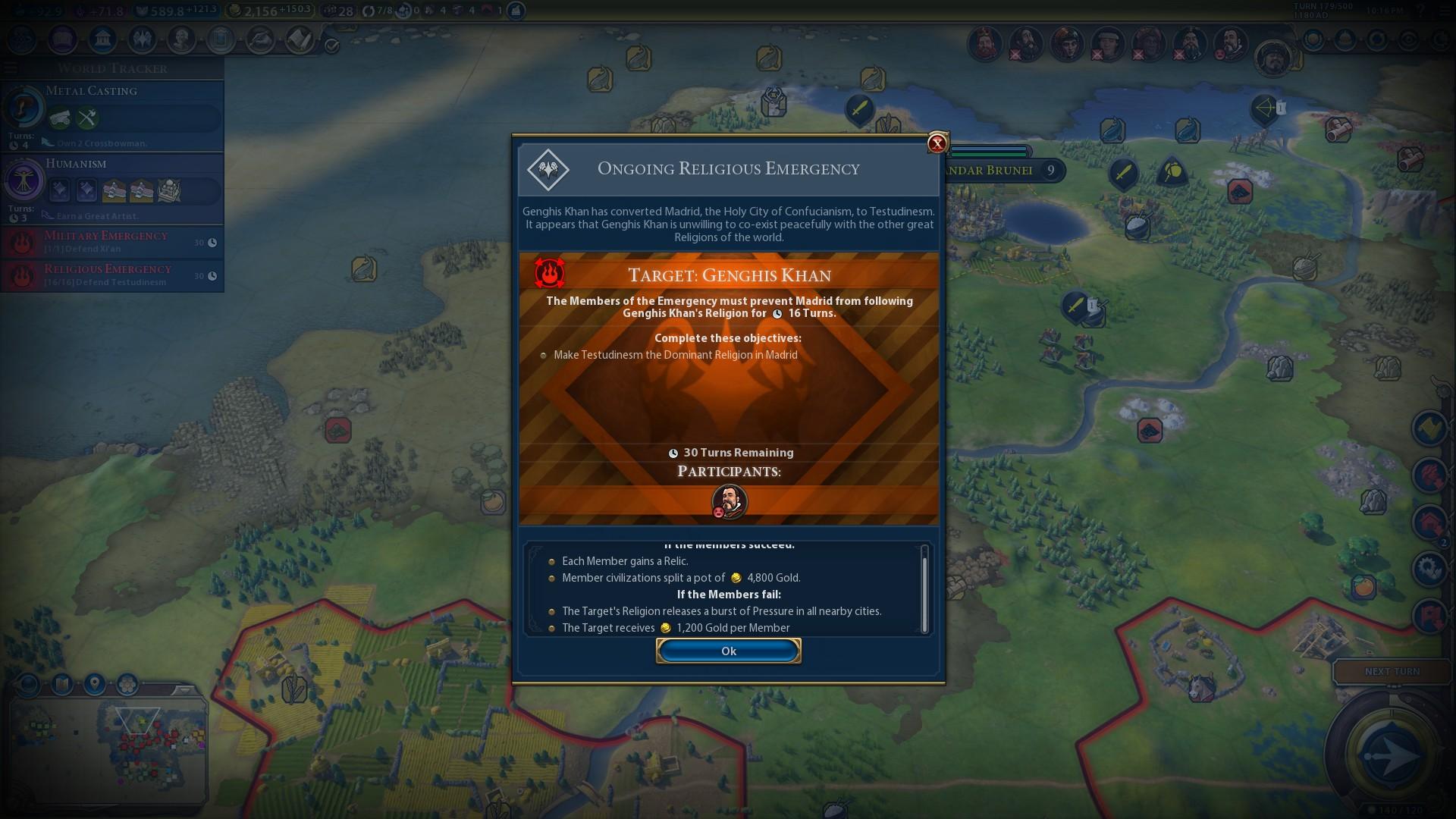 Civilization VI: Rise and Fall |OT| Just One More Era | ResetEra