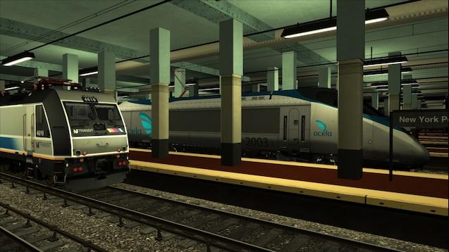 Steam Workshop :: Amtrak Acela Express 2190