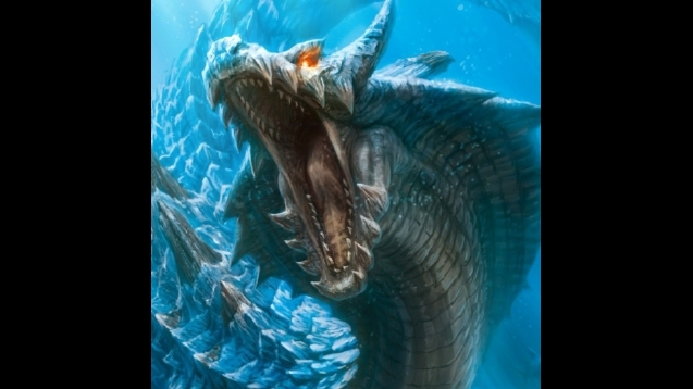 Monster Hunter Lagiacrus Wallpaper