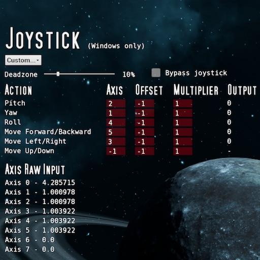 Steam Community :: Guide :: Joystick setup
