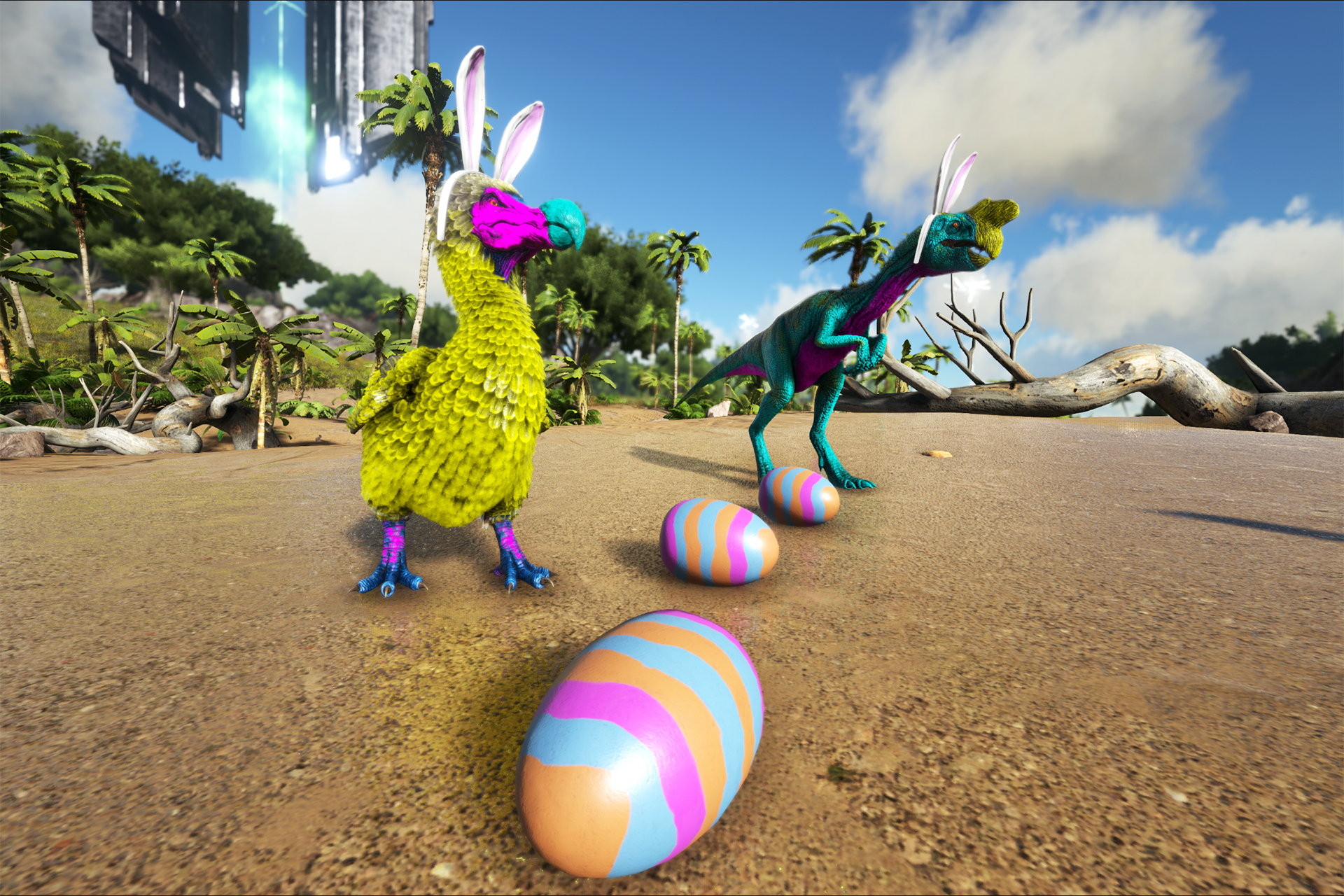 Ark survival evolved eggcellent adventure returns community during eggcellent adventure survivors will be able to collect special bunny eggs across the ark from wild bunny dodos and bunny oviraptors malvernweather Gallery