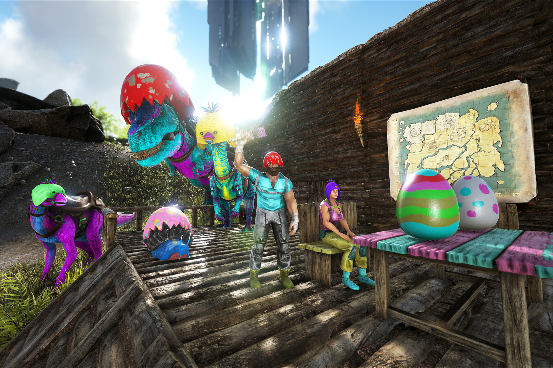 Ark survival evolved eggcellent adventure returns community cheat giveitem blueprintgameprimalearthcoreblueprintsitemsarmorskinprimalitemskindinochickhatimalitemskindinochickhat 1 0 0 malvernweather